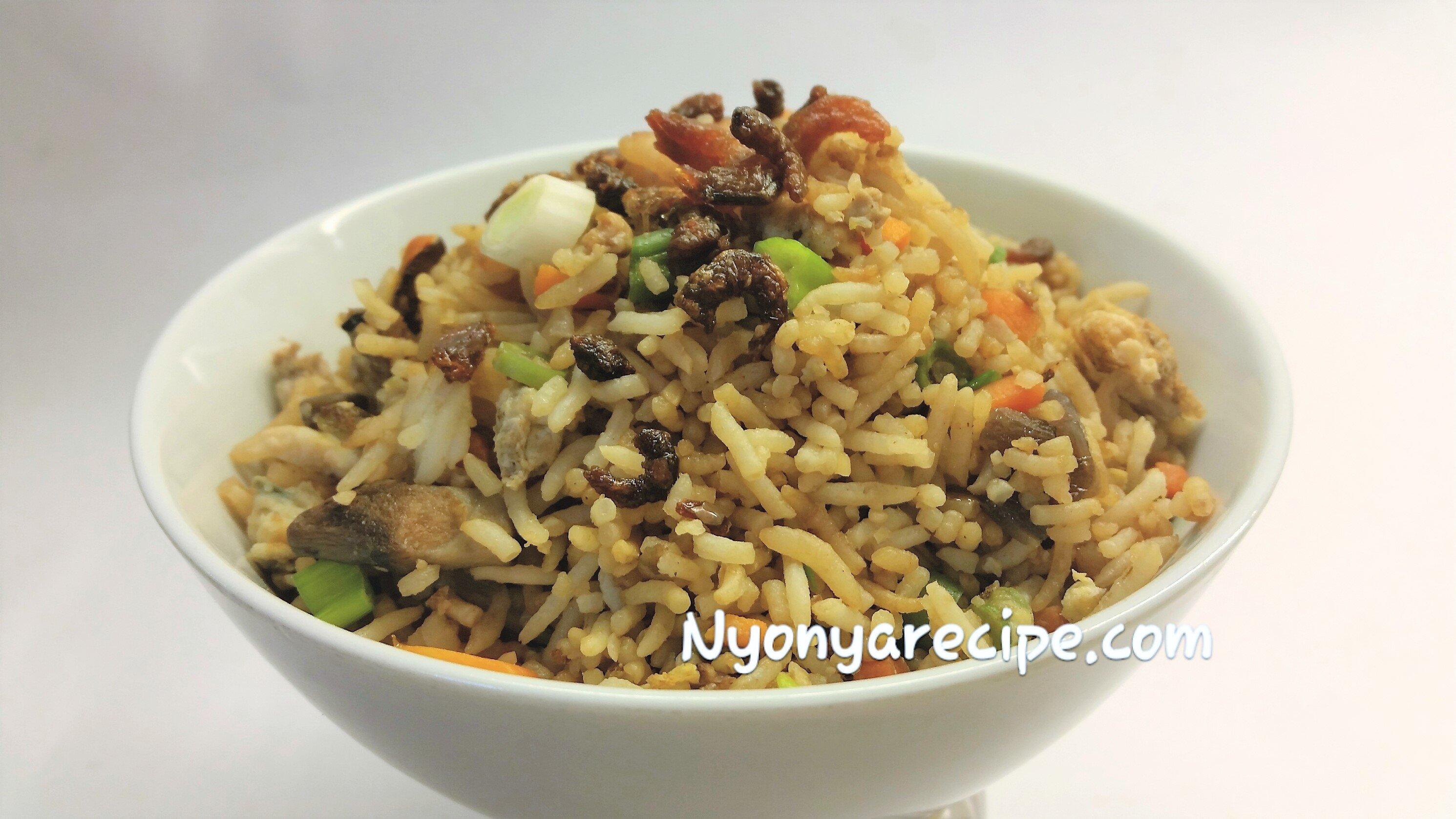 #seafood, prawns, rice