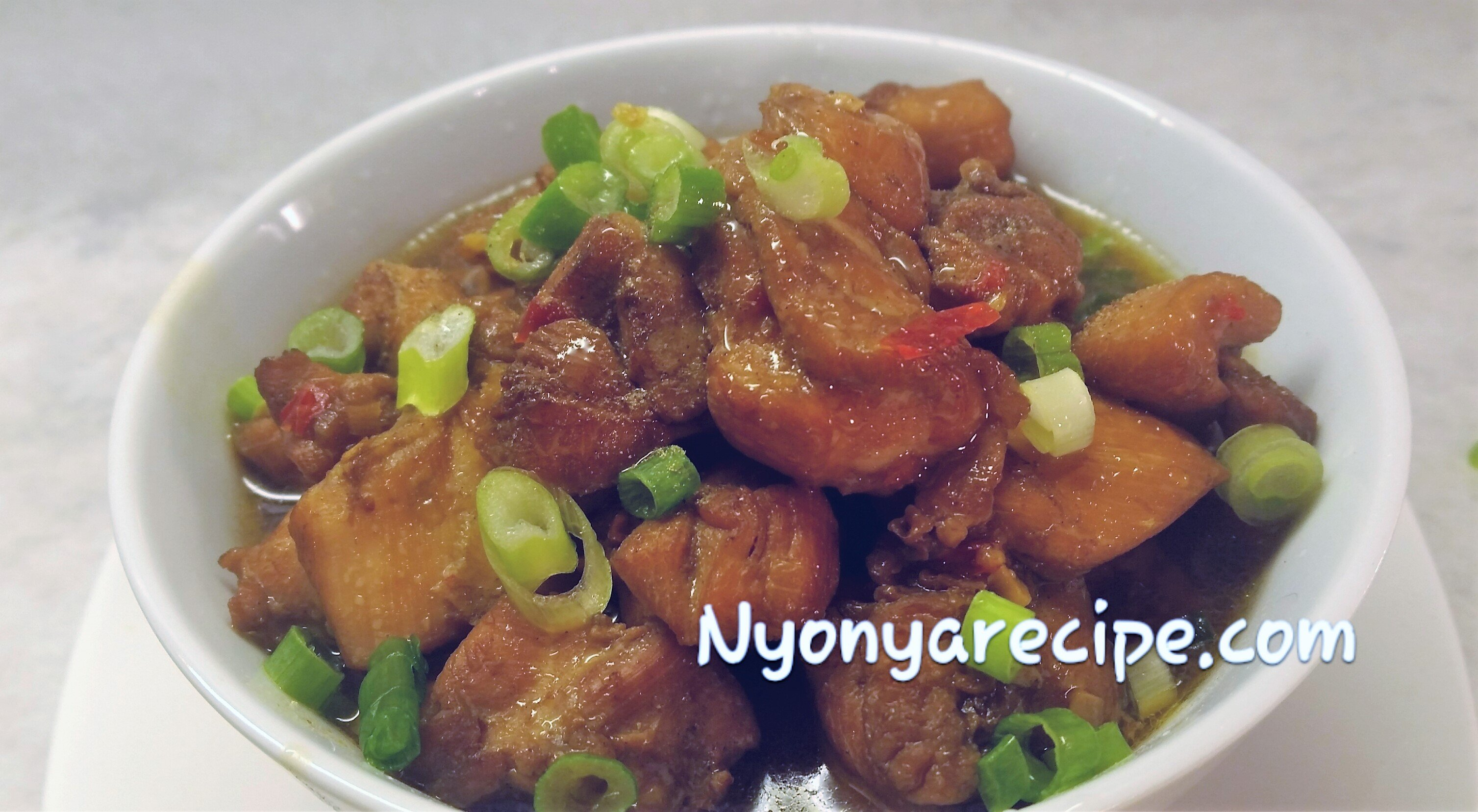 chinese,#chicken'#quick stew, preserved soya beans, Malaysian,