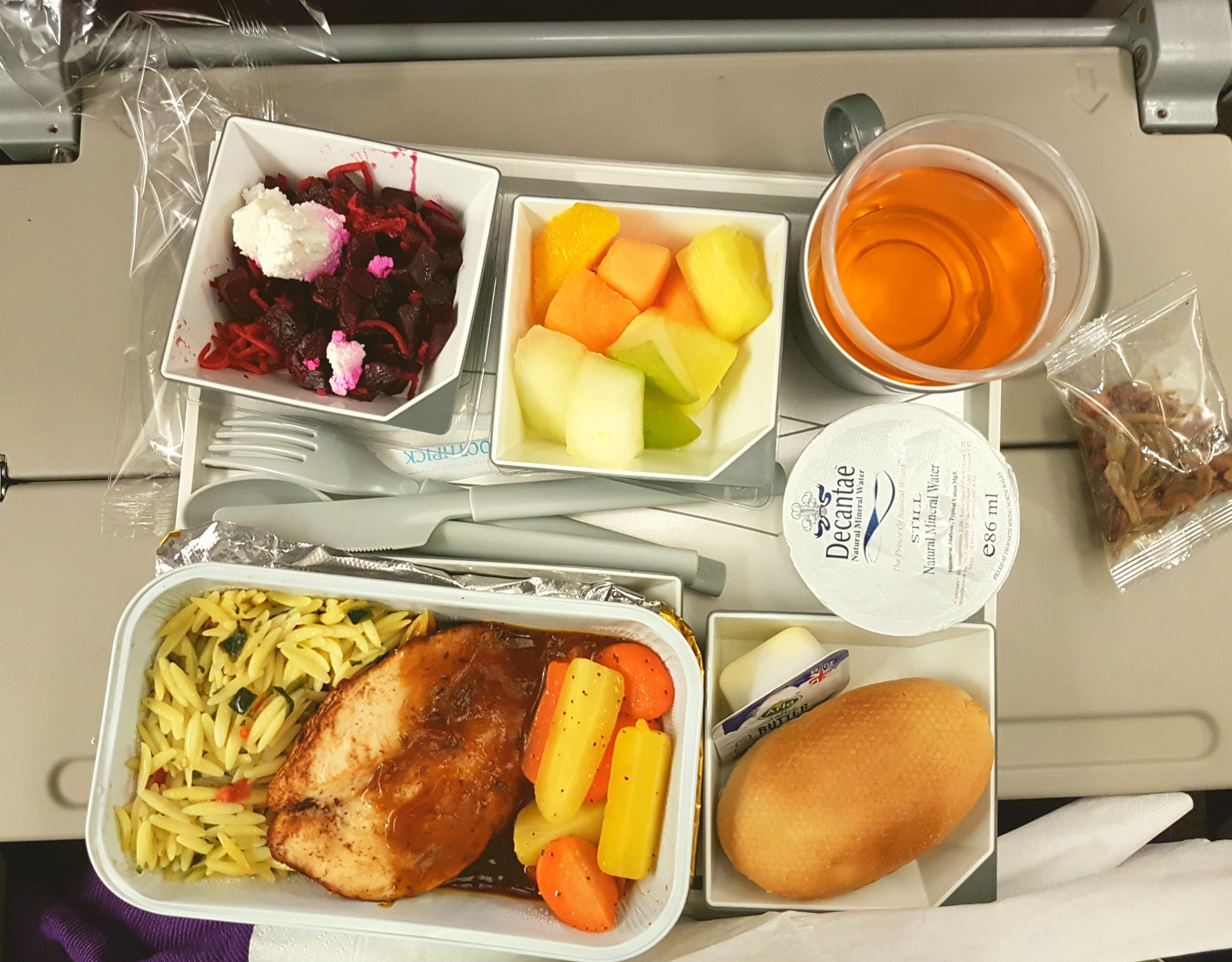 airline meal, Malaysia Airline,Chicken,