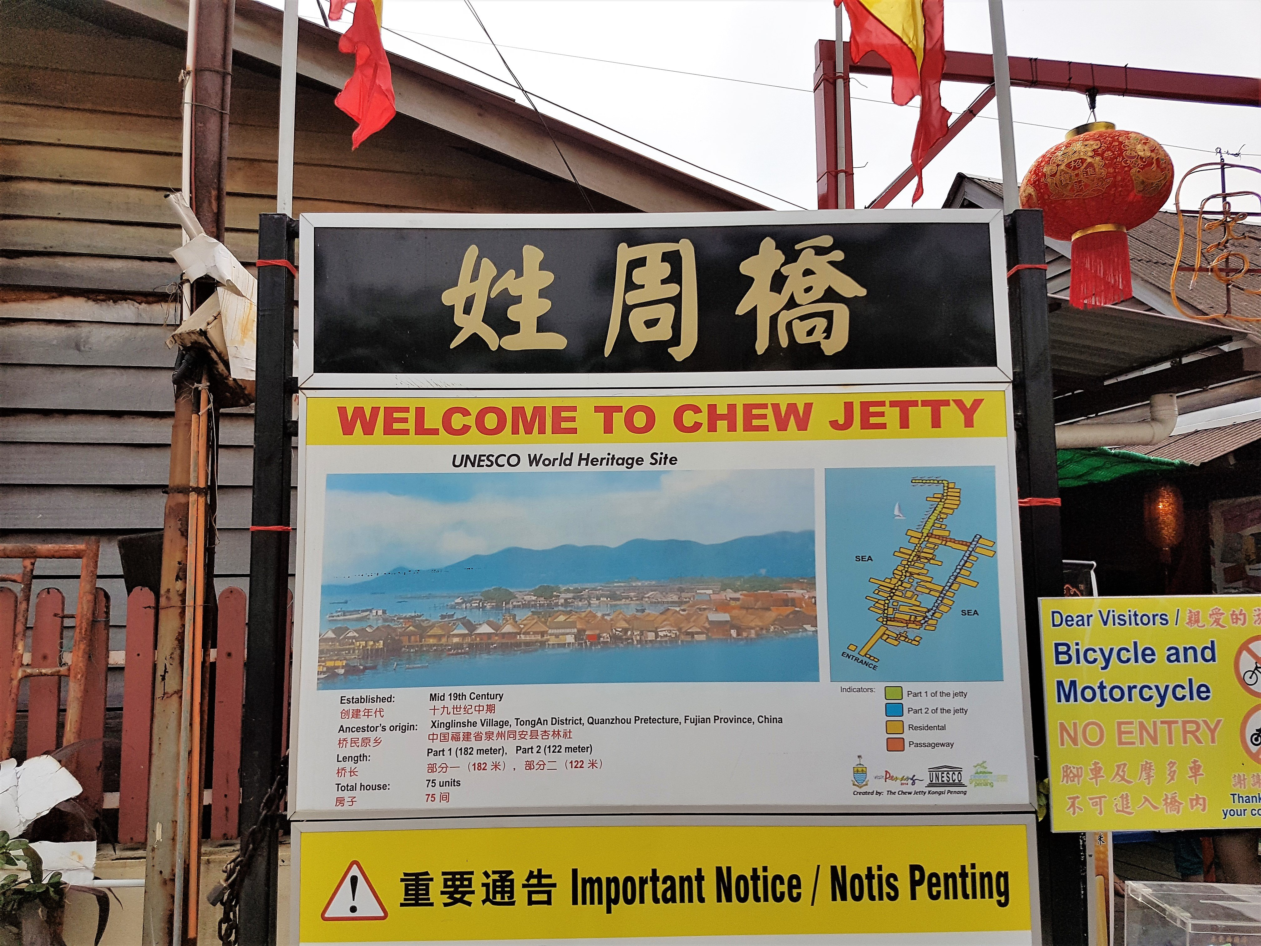 Penang, Unesco, Malaysia, Jetty, Malaysia,