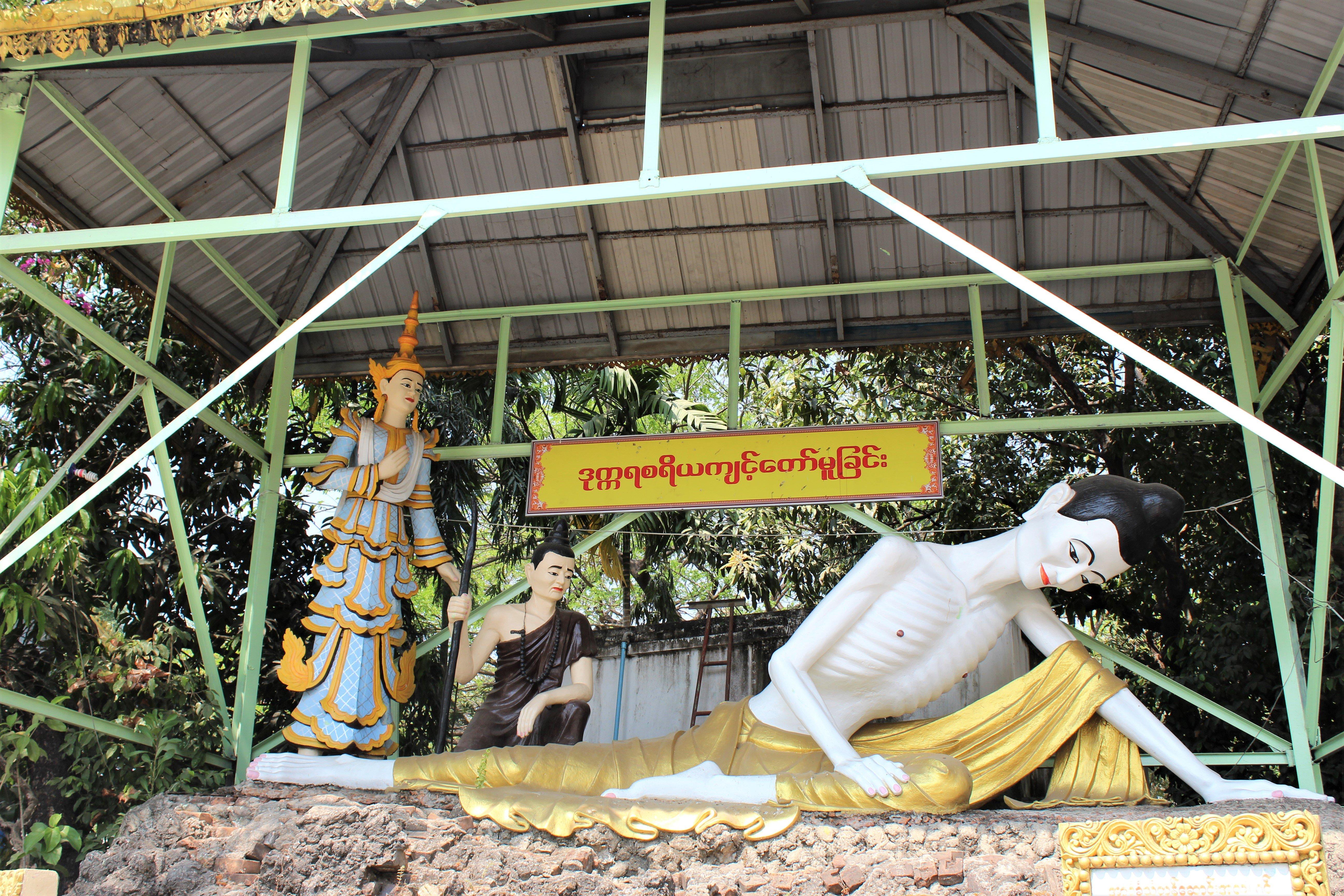 Buddha, Yongon, Myanmar,