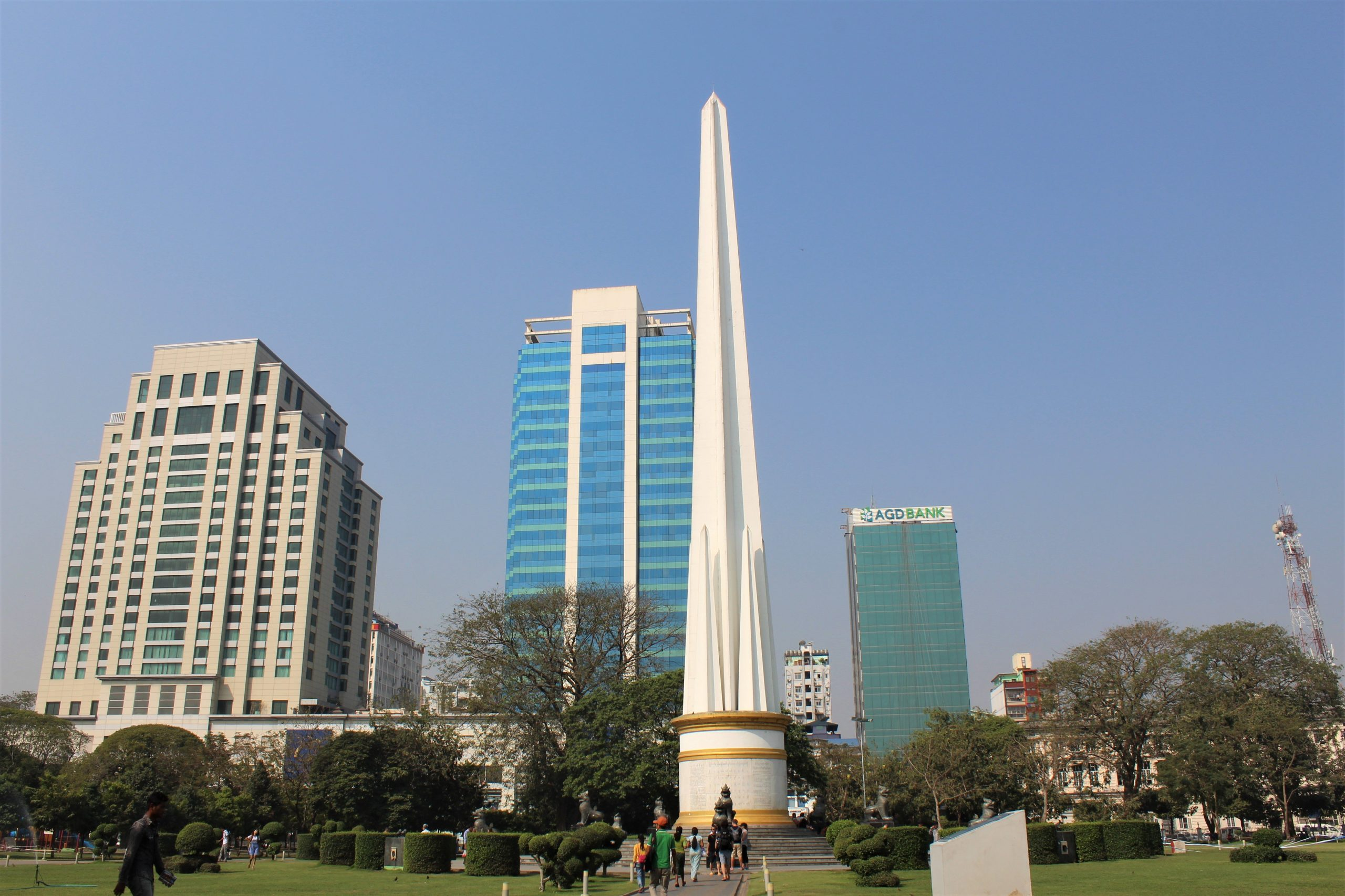 Yangon, Myanmar, Monument,