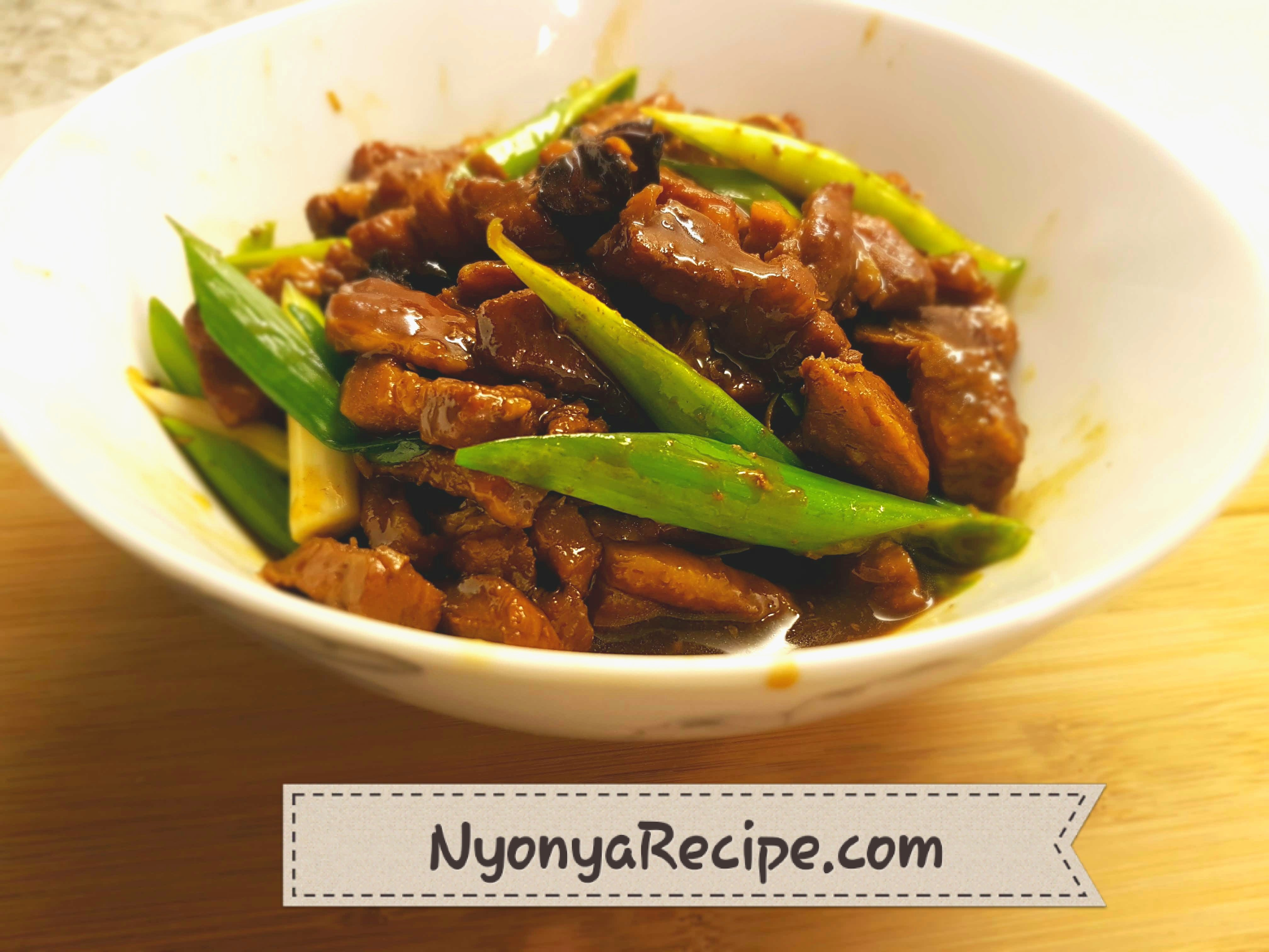 pork, star anise, rock sugar, soy sauce, easy,