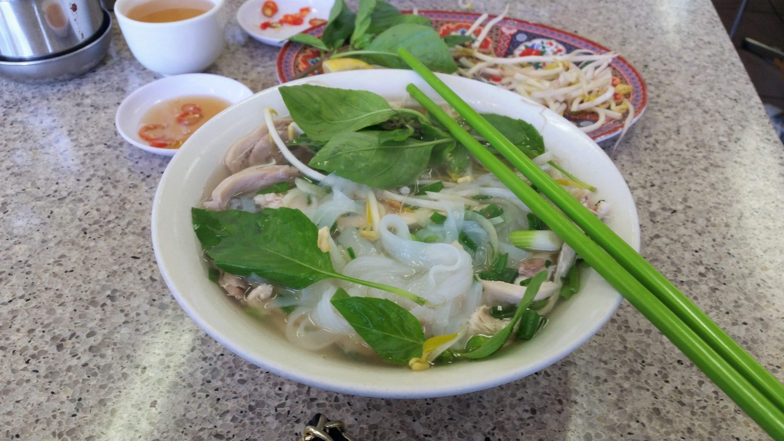 Vietnamese pho, Melbourne, China town