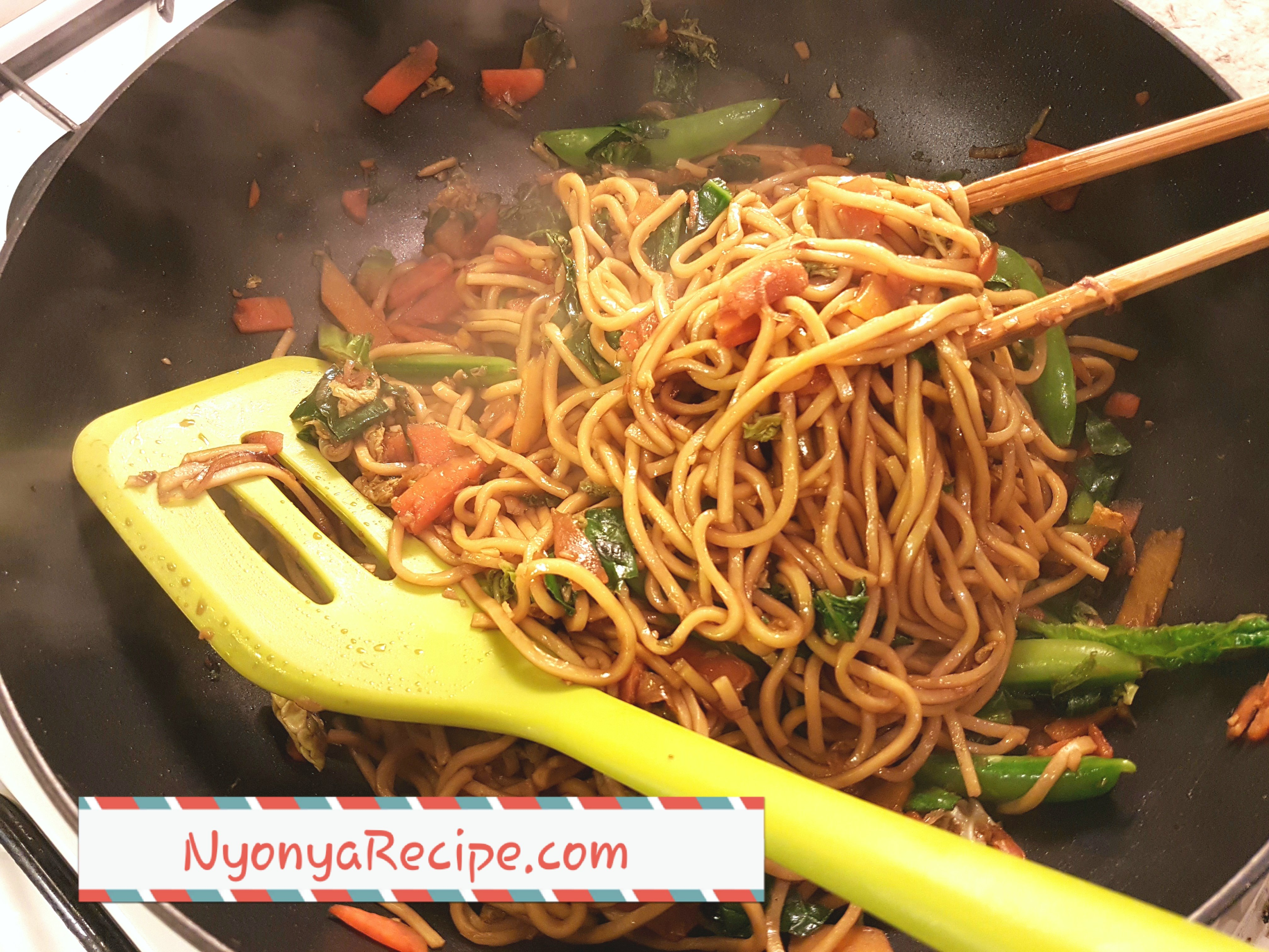 vegan, noodles.