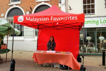 Nyonya recipe Gazebo, featuring Malaysian favourits.