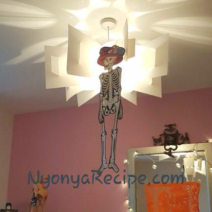 skeleton on halloween, dead,