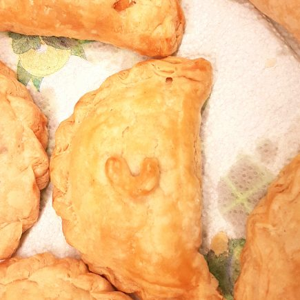 Coconut Pasty in Puff pastry