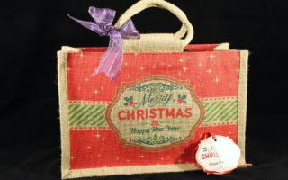 Environmentally Friendly Christmas Gift Set -Jute Bag
