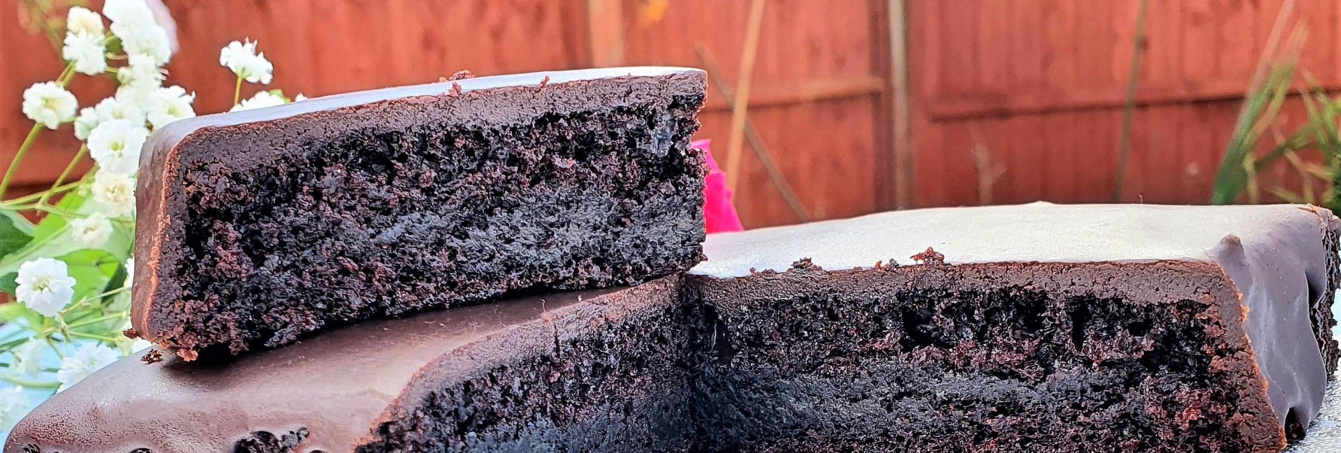 Chocolate Cake Slices