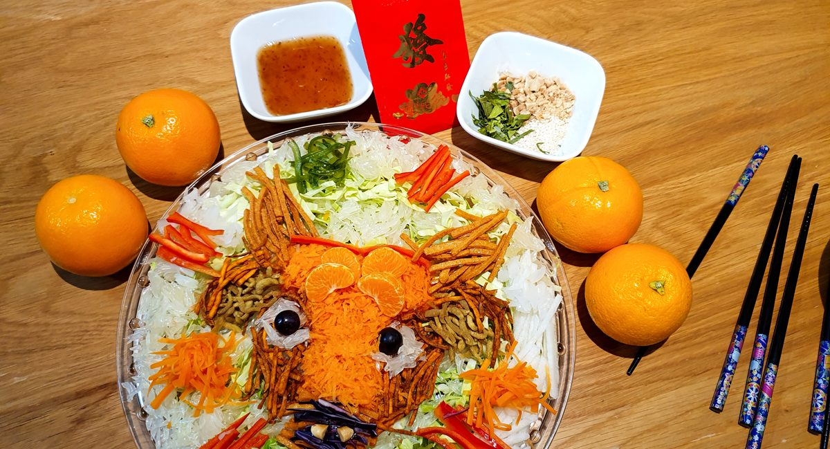 Yee Sang Year of the Ox
