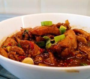 Spicy Chicken Oriental style