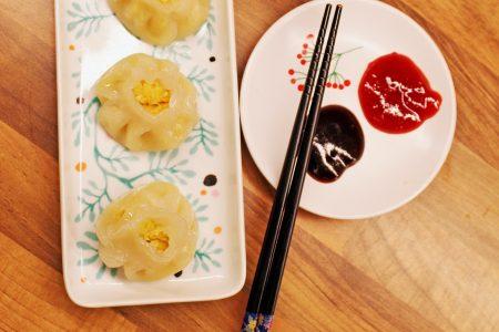 chai kuih , vegetable dumplings.