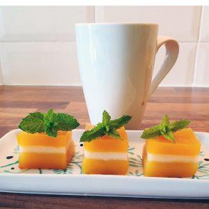 My vegan and gluten free butternut squash pudding