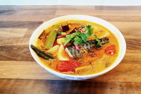 Penang Nyonya Fish Curry bursting with flavours